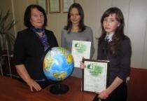 Школьницы из Марева стали призёрами областного экологического форума