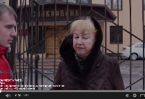 «53 секунды»: пикетчика у «Славянбанка» задержала полиция