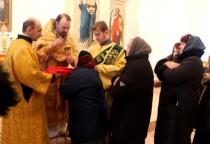 В Волотовском районе после ремонта открылся храм Благовещения Пресвятой Богородицы
