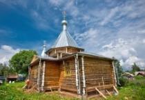 «53 новгородских храма»: церковь Владимирской иконы Божией Матери в Селееве (Поддорский район)