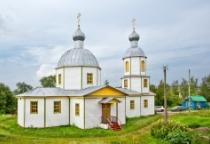 «53 новгородских храма»: церковь Cвятой Троицы в Поддорье