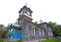 «53 новгородских храма»: церковь святого Феодора Стратилата в селе Верехново (Волотовский район)