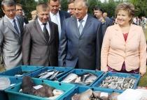 Сергей Митин и Елена Писарева приняли участие в праздновании 433-летия села Мошенское