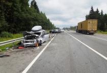Семь человек пострадали в ДТП в Крестецком районе