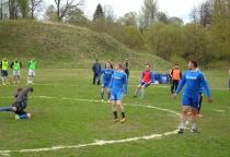 В Марёве прошёл межрайонный футбольный турнир на кубок экс–главы района Вячеслава Голубева