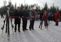 В Любытинском районе открылся горнолыжный курорт «Любогорье»