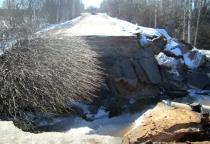 В Любытинском районе рухнул мост