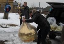 Сто рублей для сельского храма