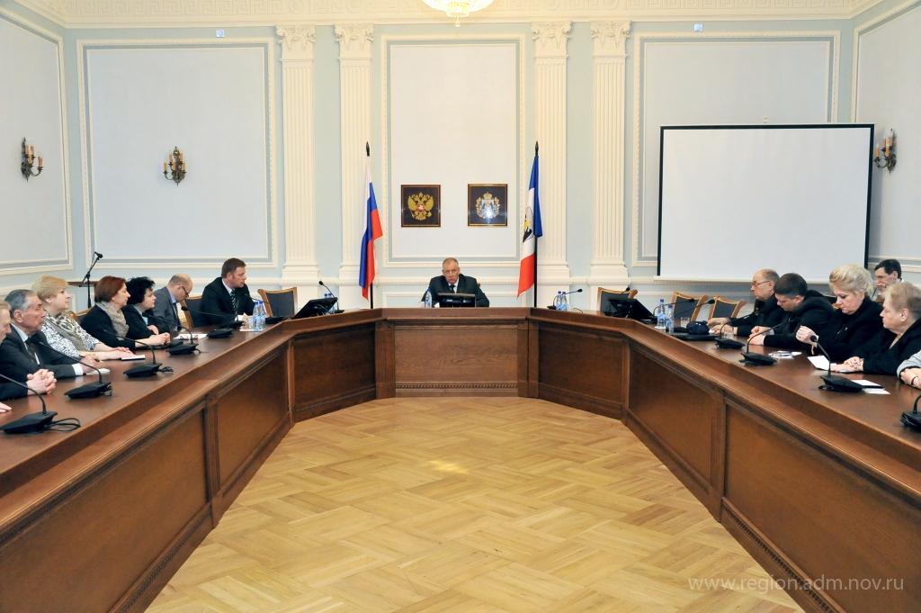 Губернатор Новгородской области встретился с представителями НКО