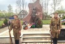 Губернатор Сергей Митин принял участие в памятных мероприятиях в селе Лычково
