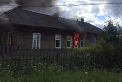 ИО главы Окуловского района принял участие в тушении пожара