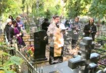В Великом Новгороде прошла панихида на могиле матери Рахманинова
