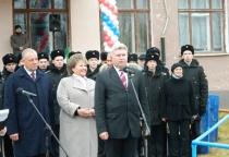 В деревне Сосновка Солецкого района открылся кадетский корпус