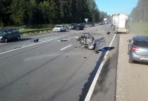 ДТП в Крестецком районе: легковушка столкнулась с автобусом