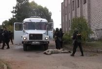 Видео: Новгородский агротехнический техникум освободили от «террористов»