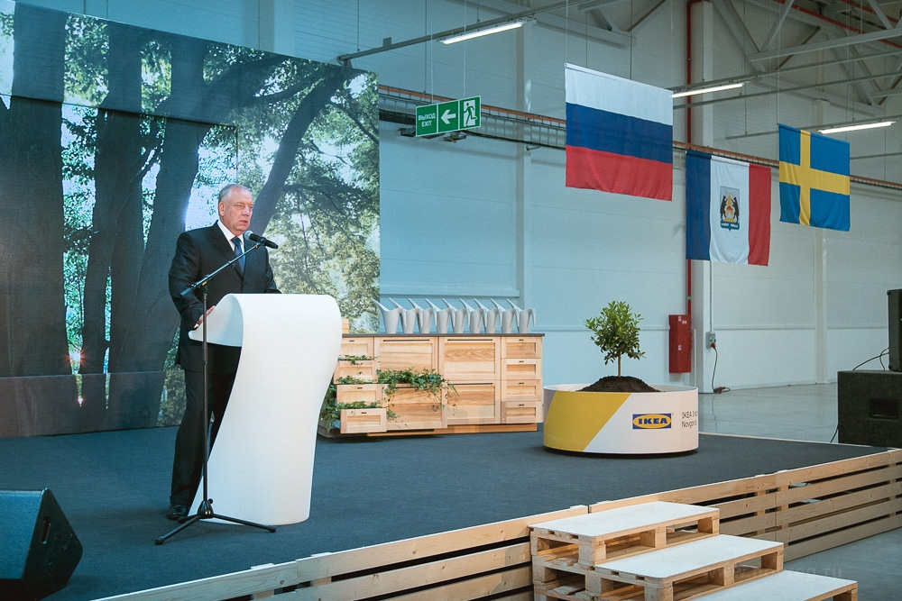 ИКЕА ввела вВеликом Новгороде фабрику отличной мебели за4 млрд