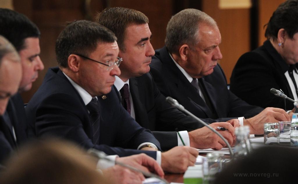 Губернатор поучаствовал в совещании президиума иконсультативной комиссии государственного совета