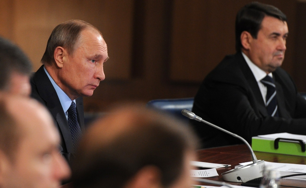 Путин провел вЯрославле совещание поинвестклимату