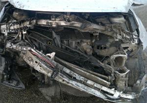 В ДТП на Софийской площади разбиты Alfa Romeo и Ford