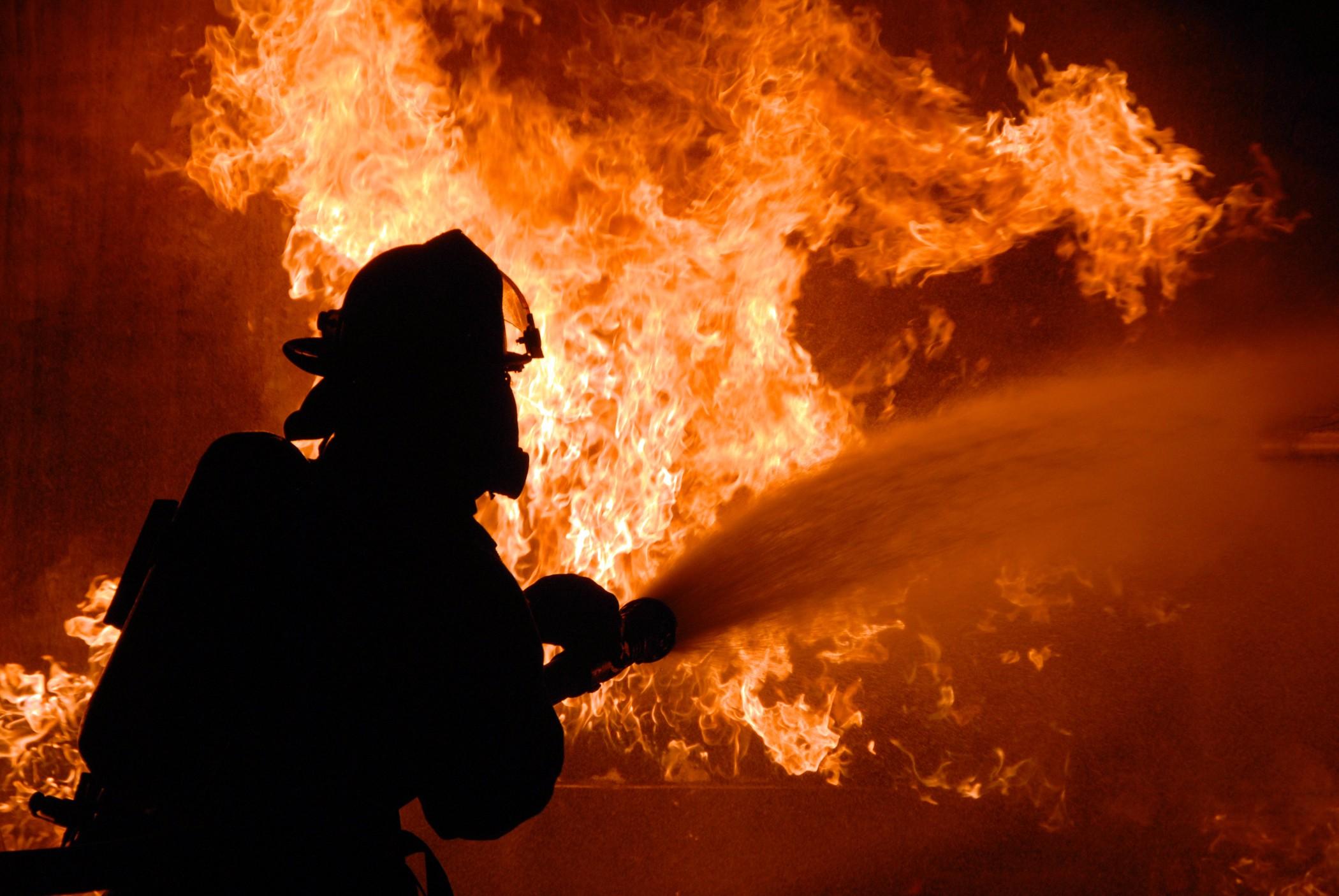 На Харьковщине в пожаре погиб человек