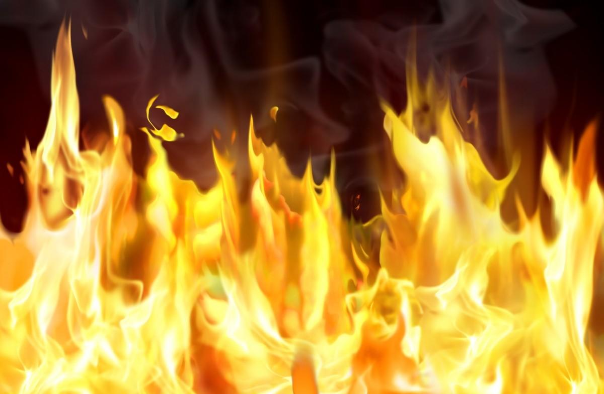 В Маловишерском районе сгорел дом