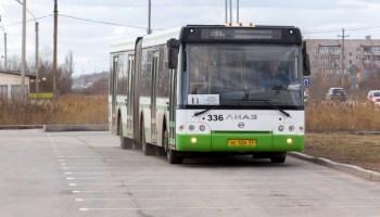 «Умные» автобусы на улицах Великого Новгорода