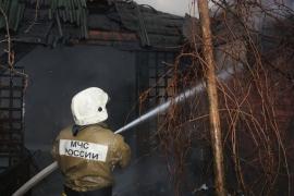 В Новгородском районе в вагоне бытовки сгорели мужчина и женщина