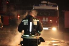 В многоквартирном доме в Валдае сгорел подвал