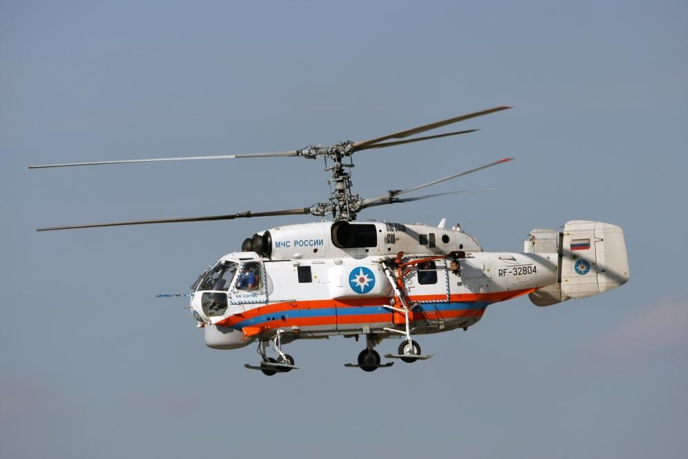 Вертолёт Ка-32 МЧС заступил на дежурство в Новгородской области