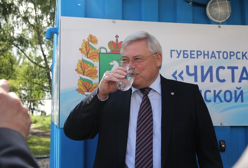 В предыдущем 2017-ом 50 000 граждан Томской области получили чистую воду