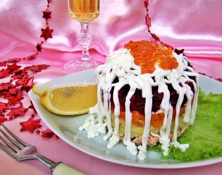 «53 новогодних рецепта»: царская шуба
