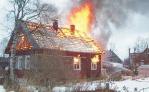 Крупные пожары произошли в Маревском районе и в Малой Вишере
