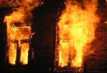 Огонь уничтожил дом в Демянском районе