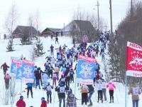 Валдай принял массовую гонку «Лыжня России»