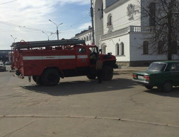 Новгородский вокзал оцеплен из-за сообщения о подозрительном предмете