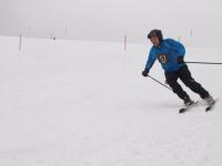 В Любытинском районе состоялись соревнования по горнолыжному спорту