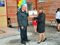 Сергей Митин поздравил хвойнинцев с открытием нового детского сада