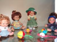 В краеведческом музее Хвойной открылась выставка кукол советских времён «Мир детства»