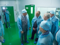 Сергей Митин принял участие в открытии нового производства электронной промышленности