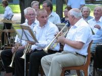 В Великом Новгороде открывается сезон духового оркестра, которым дирижирует Почетный гражданин города