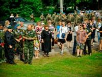 Впервые на конкурс патриотической песни «Сердцем причастны» в Холм приехали вокалисты из Германии