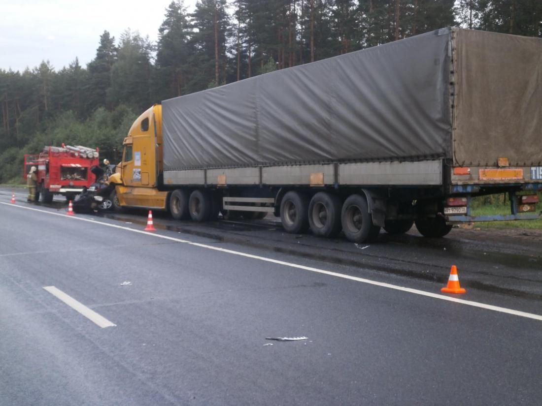 4августа текущего года вНовгородской области зарегистрировано 2 ДТП