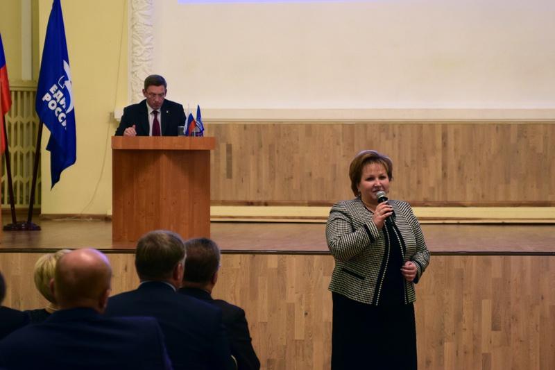 Председателем Новгородской областной Думы стала Елена Писарева