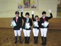 Новгородцы выиграли олимпиаду среди детей-инвалидов по конному спорту