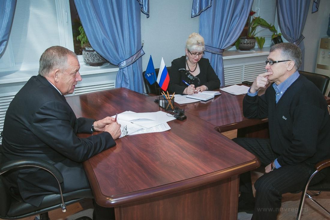 Губернатор Новгородской области провел прием жителей