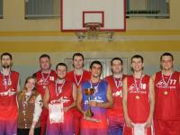 Команда «Старт» стала победителем чемпионата Великого Новгорода по баскетболу