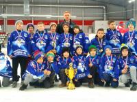 Новгородский ХК «Айсберг» выиграл «Кубок чемпионов» в Пскове