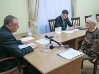 Сергей Митин провел личный прием граждан в региональной приемной Президента РФ