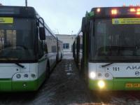 В Великом Новгороде на маршруты вышли пять новых ЛиАЗов