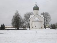 В Великом Новгороде ищут имя скверу у церкви, около которой похоронено более трех тысяч умерших от голода